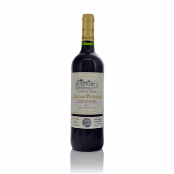 Chateau Puybarbe Cuvee le Maine Cotes du Bourg 2014  - Click to view a larger image