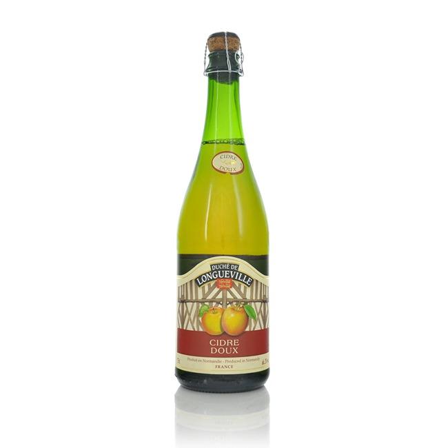 Duche de Longueville Muscadet De Dieppe Cidre Doux 2% ABV 750ml  - Click to view a larger image
