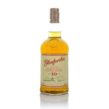 Glenfarclas 10 Year Old Speyside Single Malt Scotch Whisky  - Click to view a larger image