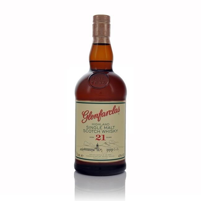 Glenfarclas 21 Year Old Speyside Single Malt Scotch Whisky