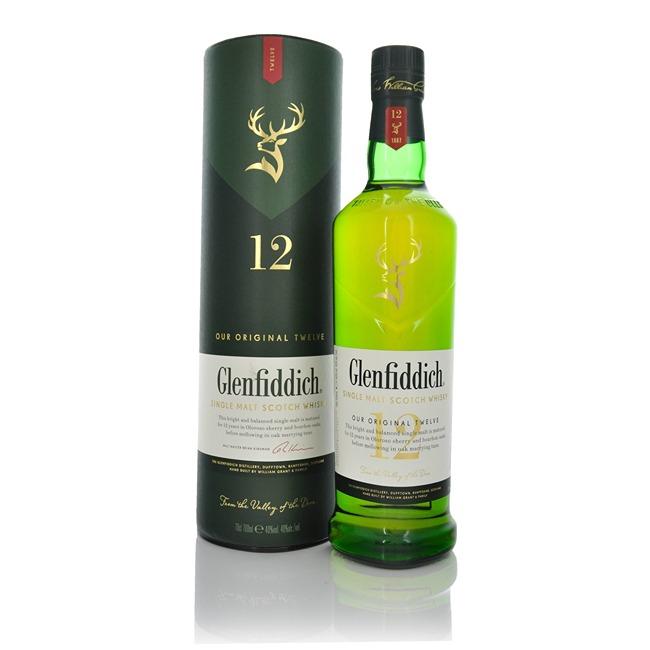 Glenfiddich 12 Year Old Speyside Single Malt