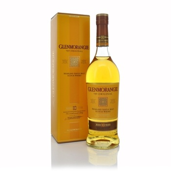Glenmorangie 10 Year Old Highland Single Malt Scotch Whisky 70cl  - Click to view a larger image