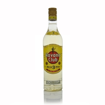 Havana Club Anejo 3 Year Old Rum 70cl  - Click to view a larger image