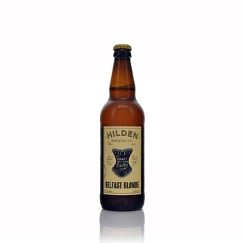 Hilden Brewing Company Belfast Blonde Ale 4.3% ABV 500ml  - Click to view a larger image