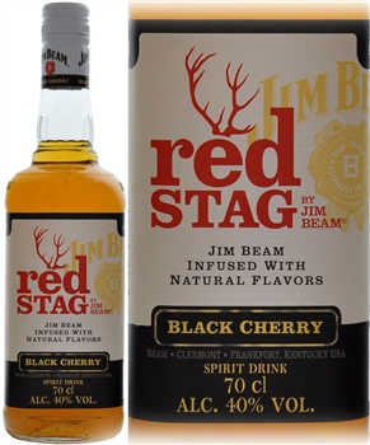 Jim Beam Red Stag Black Cherry 70cl