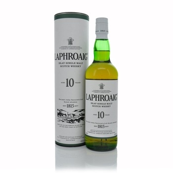 Laphroaig 10 Year Old Islay Single Malt Scotch Whisky 70cl  - Click to view a larger image