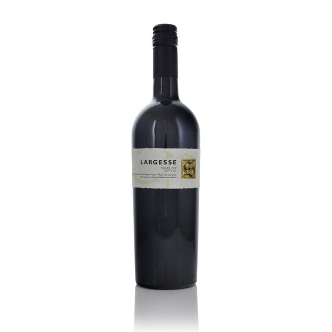 Largesse Vin de Pays Merlot 2019  - Click to view a larger image