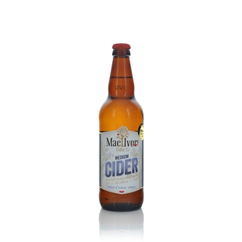 MacIvors Cider Company Medium Cider 4.5% ABV 500ml  - Click to view a larger image