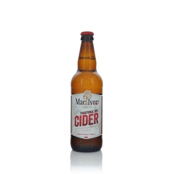MacIvors Cider Company Traditional Dry Cider 5.6% ABV 500ml  - Click to view a larger image