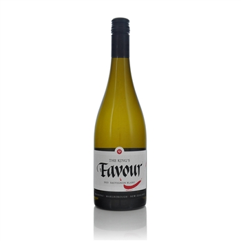 Marisco Vineyards The Kings Favour Marlborough Sauvignon Blanc 2015  - Click to view a larger image