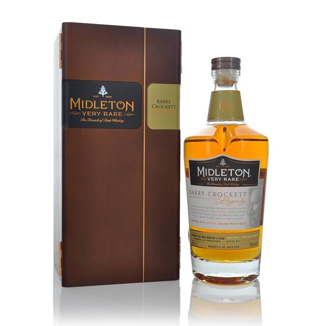 Midleton Barry Crockett Legacy Single Pot Stilled Irish Whiskey 70cl