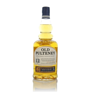 Old Pulteney 12 year Old Highland Single Malt Scotch Whisky 70cl  - Click to view a larger image