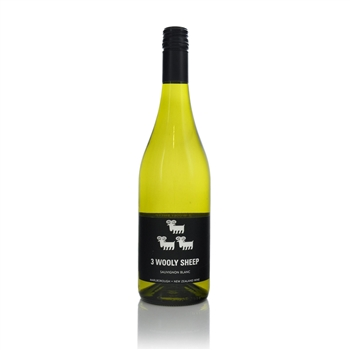 3 Wooly Sheep Marlborough Sauvignon Blanc 2020