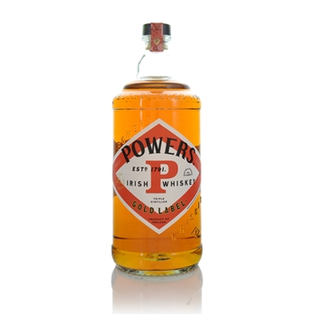 Powers Gold Label Blended Irish Whiskey 1 litre (100CL)  - Click to view a larger image