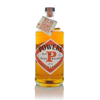 Powers Gold Label Blended Irish Whiskey 70cl  - Click to view a larger image