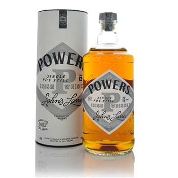 Powers Johns Lane 12 Year Old Single Pot Still Irish Whiskey 70cl  - Click to view a larger image