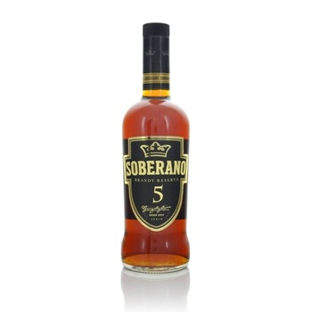 Soberano Solera Reserva 5 year old Spanish Brandy 70cl  - Click to view a larger image