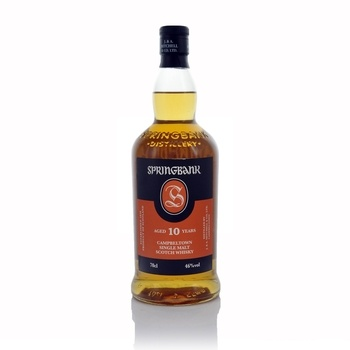 Springbank 10 Year Old Campbeltown Single Malt Scotch Whisky 70cl  - Click to view a larger image