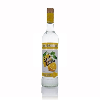 Stolichnaya Premium Russian Citrus Vodka 70cl  - Click to view a larger image