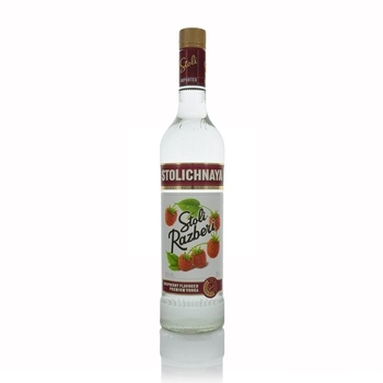 Stolichnaya Premium Russian Raspberry Vodka 70cl