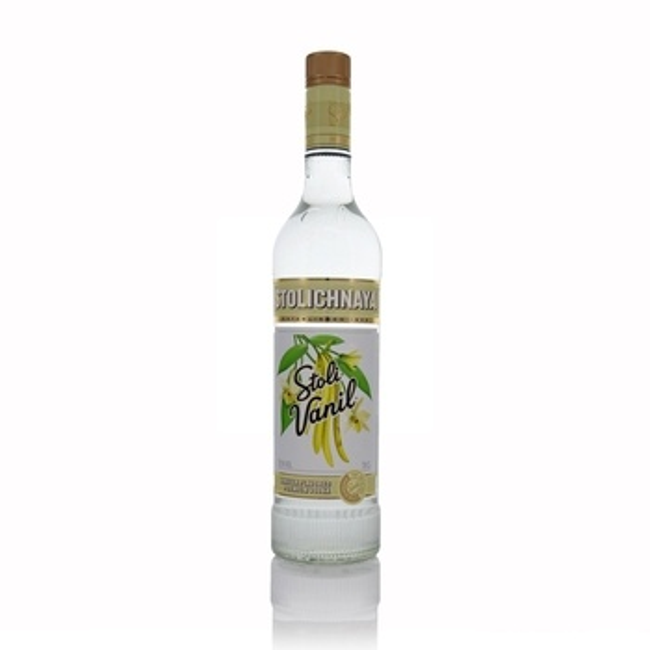 Stolichnaya Premium Russian Vanilla Vodka 70cl  - Click to view a larger image