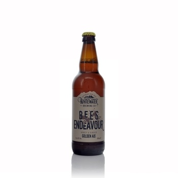 Whitewater Brewery Bees Endeavour Honey & Ginger Beer 4.8% ABV 500ml  - Click to view a larger image