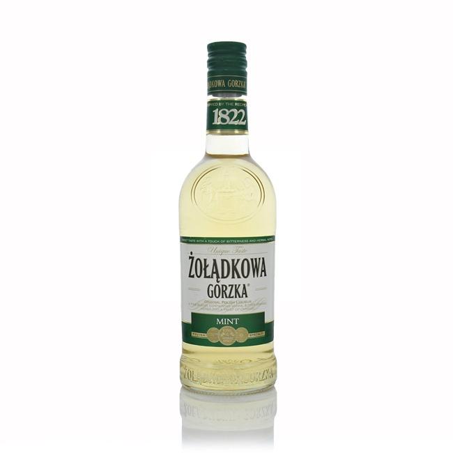 Wodka Zoladkowa Gorzka Mint Flavoured Polish Vodka 50cl  - Click to view a larger image