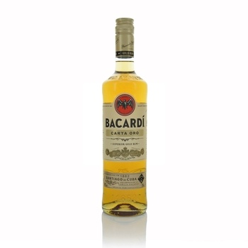 Bacardi Gold (Oro) 70cl  - Click to view a larger image