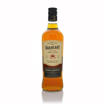 Bacardi Oakheart Spiced Spirit Drink 700ml  - Click to view a larger image