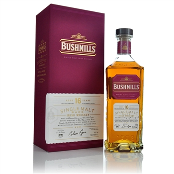 Bushmills 16 Year Old Single Malt Irish Whiskey   - Click to view a larger image