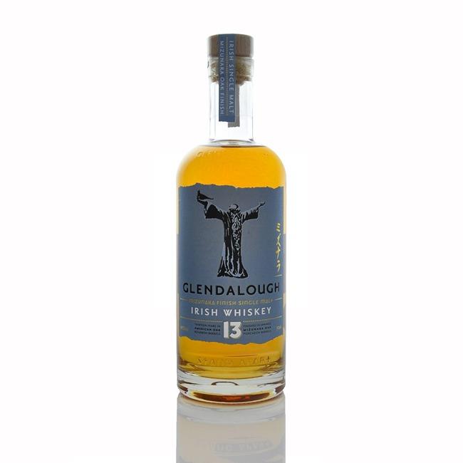 Glendalough 13 Year Old Single Malt Irish Whiskey 700ml  - Click to view a larger image