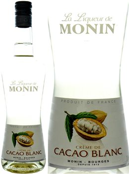 Monin Cacao Blanc 700 ml  - Click to view a larger image