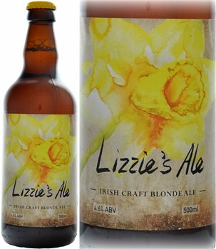 Glens of Antrim Craft Ale Lizzies Ale Irish Craft Blonde Ale 500ml  - Click to view a larger image