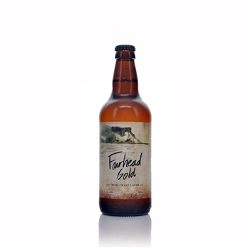 Glens of Antrim Craft Ale Fairhead Gold Irish Craft Lager 500ml  - Click to view a larger image