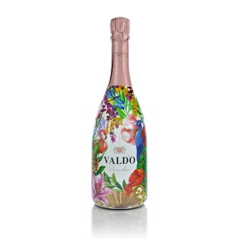 Valdo Rose Brut Vino Spumante Floral Edition   - Click to view a larger image