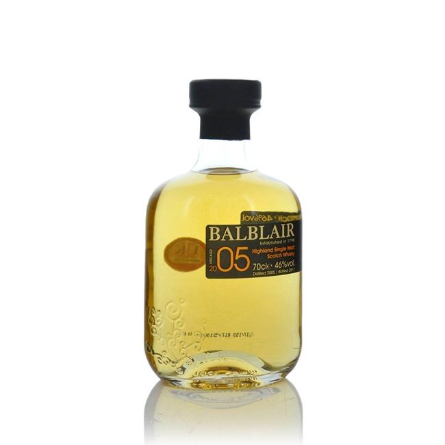 Balblair 2005 Vintage 1st Release Highland Single Malt Scotch 70cl  - Click to view a larger image