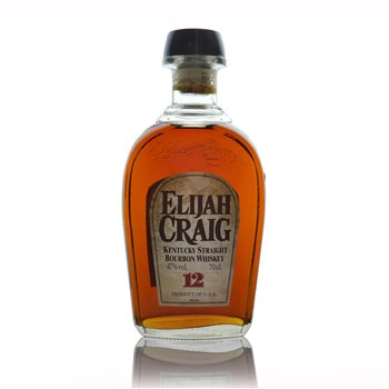 Elijah Craig Kentucky Straight Bourbon Whiskey 12 years old  - Click to view a larger image