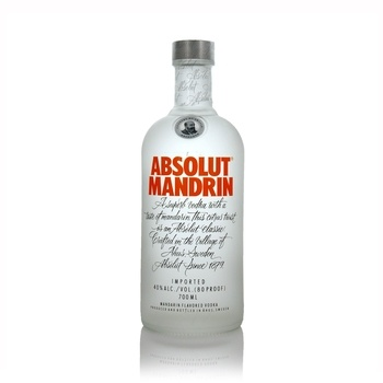 Absolut Mandrin Swedish Vodka  - Click to view a larger image