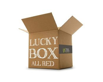 Hand Picked Lucky Box All Red Wine Case  - Click to view a larger image