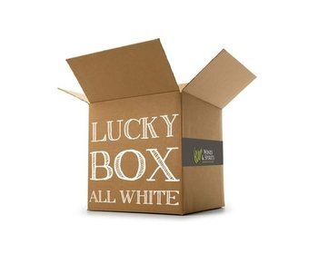 Hand Picked Lucky Box All White Wine Case  - Click to view a larger image
