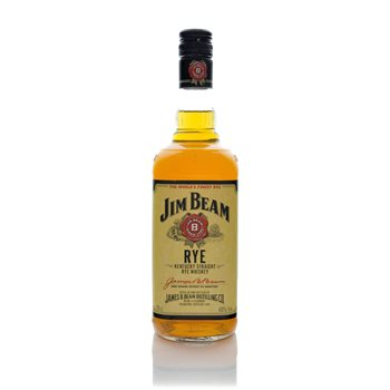 Jim Beam Kentucky Straight Rye Whiskey  - Click to view a larger image