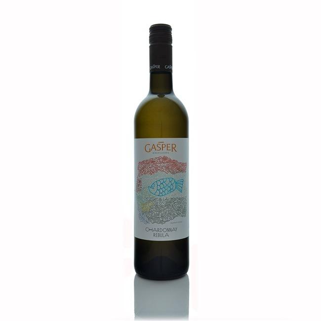 Gasper Chardonnay Rebula 2015  - Click to view a larger image