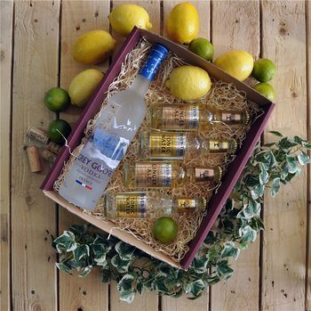 KWM Create's Grey Goose Vodka Gift Hamper  - Click to view a larger image