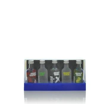 Absolut 50ml x 5 Absolut Vodka Miniature Gift Set  - Click to view a larger image
