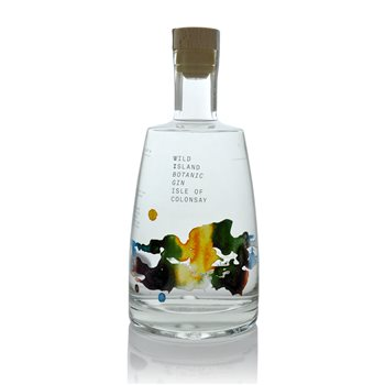 Isle of Colonsay Wild Island Botanic Gin  - Click to view a larger image