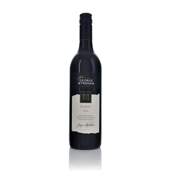 Wyndham Estate Bin 555 Shiraz 2017  - Click to view a larger image