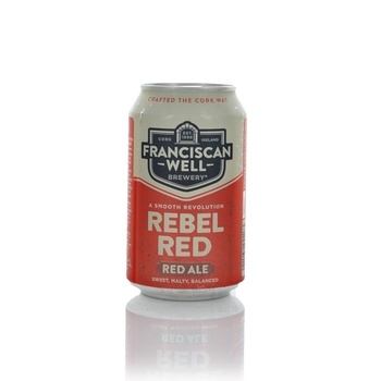 Franciscan Well Brewery Rebel Red Red Ale 330ml  - Click to view a larger image