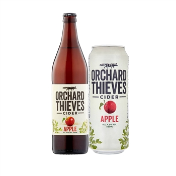 Orchard Thieves Apple Cider 4.5% ABV 660ml x12  - Click to view a larger image