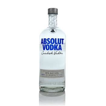 Absolut Original Swedish Vodka 100cl  - Click to view a larger image