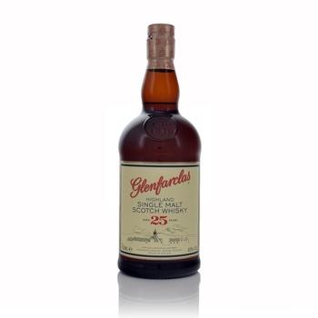 Glenfarclas 25 year old single malt Scotch